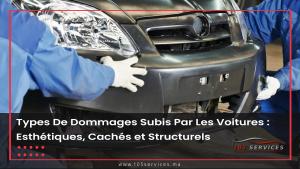 Dommages Voitures - 105 Services Marrakech